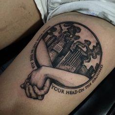 fight club tattoo - Google Search