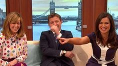 GMB 030315 Banter - The time Ben Shephard implied Kate and Hugh Jackman had been chatting about being naughty...