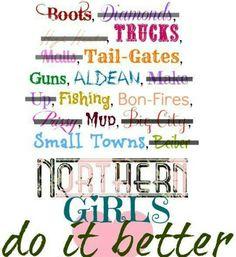 Northern girls!!!!