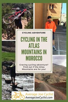 For those of you craving cycling adventure, here is a slice of extreme cycling adventure in the Atlas Mountains in Morocco. Average Joe, The Atlas, Atlas Mountains, Cycling Workout, Training Plan, Bike Trails, Travel Guides, Morocco, Touring