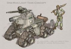 Microtank Concept by *MikeDoscher on deviantART