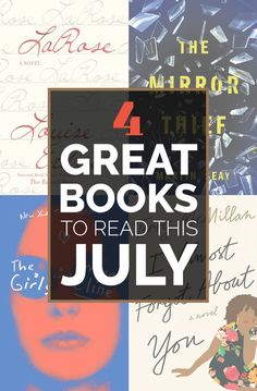 4 Great Books To Read In July