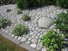 stenläggning trädgård - Google Search Garden Paving, Garden Paths, Garden Art, Garden Landscaping, Garden Design, Home And Garden, Evergreen Garden, Stone Houses, Garden Projects