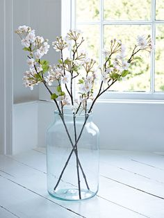 NEW Three Faux Blossom Stems - Faux Plants & Flowers - Decorative Home - Indoor Living