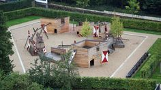 [Playscapes Blog] - Modern Castle Playground, Zulpich Germany, RMP Stephan Lenzen, 2014
