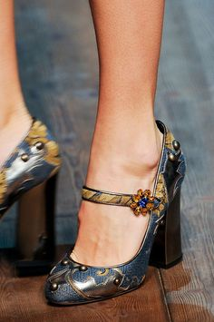 Dolce & Gabbana Fall 2014 - Details