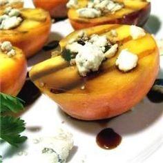 Grilled Peaches Allrecipes.com
