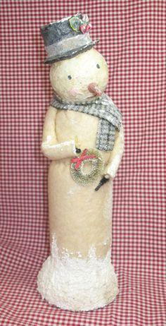 Snowman by Annie Beez