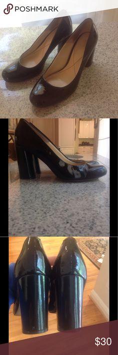 Isola Black Heels! Nice Isola black patent leather heels! 3 inch heel! Size 7 1/2. EUC!! Isola  Shoes Heels