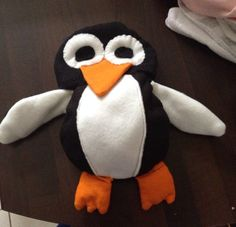 Penguin toy for my god-daughter to match her penguin costume
