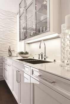 siematic beauxarts.02 - Love this kitchen collection... modern meets glam