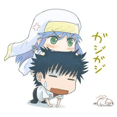 Touma and Index from the anime/manga A Certain Magical Index Frank Movie, Motto To Love Ru, Tales Of Vesperia, My Step Mom, A Certain Scientific Railgun, A Certain Magical Index, Fanart, Kid Movies, Manga Characters
