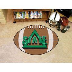 Delaware State Hornets NCAA Football Floor Mat (22x35)