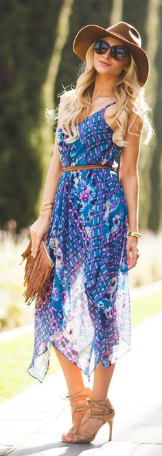 Airy Sundress Outfit Idea by Angel Food Style
