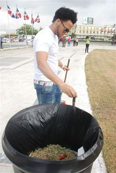 """Informando24Horas.com: """"El Alfa"""" comienza a cumplir su sanción de limpiar..."""