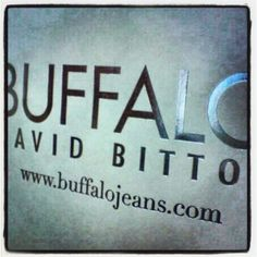 Buffalo Jeans. My favorite brand of Jeans. Especially slim fit! My fave :)