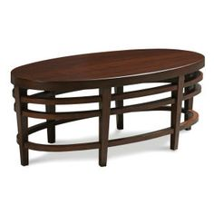 8194-46 Oval Cocktail Table