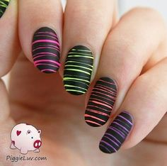 ain't i'm cute? its simple nail design but gonna make your…