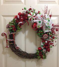 My First Christmas Wreath of The Season.