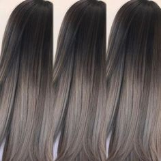 Aschbraun ist der neue Haarfarben-Trend 2018 Ash Brown is the new hair color trend 2018 Light Ash Brown Hair, Ash Brown Hair Color, Cool Hair Color, Ash Brown Ombre, Medium Ash Brown Hair, Black Ash Hair, Nice Hair Colors, Asian Hair Dyed Brown, Brown Hair To Ash Blonde