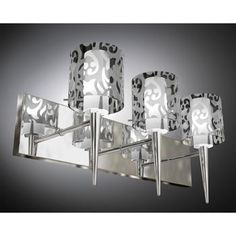 Bathroom Lights Costco $40 costco feit led 3-light vanity fixture 2700k brushed stainless