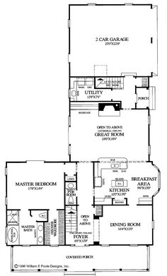 3 bed 2 bath Colonial Cottage Country Craftsman Farmhouse Southern Traditional House Plan i kind of like the floor plan except for the fact that it is ginormous. Southern House Plans, Cottage House Plans, Country House Plans, Best House Plans, House Floor Plans, Colonial Cottage, Creole Cottage, Craftsman Farmhouse, Small Cottage Homes