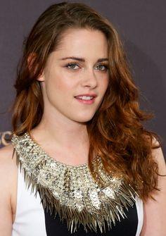 """Kristen Stewart at a press junket for the movie """"Breaking Dawn"""" part 2......."""