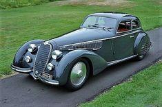 1937 Alfa Romeo 8C 2900B Lungo Touring Berlinetta.