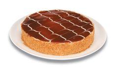 Expresso dos Sabores | Torta Cheesecake de Goiaba - Base de biscoito, delicioso creme preparado com cream cheese, mousse de goiaba, coberta com geleia de goiabada cascão.