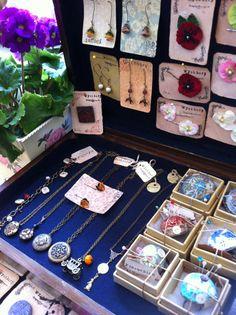 Jewelry shop display, by Wychbury