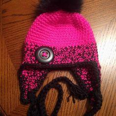 Foundation Single Crochet, Crochet Chain, Crocheted Hats, Half Double Crochet, Yarn Needle, Slip Stitch, Hat Sizes, Etsy Shop, Things To Sell