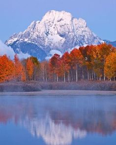 what a beautiful place!  Grand Teton National Park- Wyoming, USA