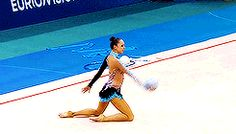 Marina Durunda's ball routine at 2014 European Championships