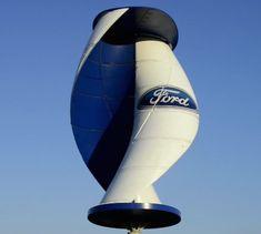 Ford and Wind Energy micro wind turbine