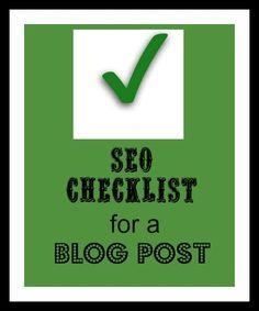 Blog Post Seo Checklist #AffiliateMarketing#WorkFromHome