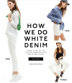 madewell white denim email