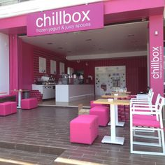 Chillbox frozen yogurt & juicy spoons öppnar snart i Täby Centrum! #taby