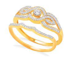 Beautiful real diamond jewellery ring: Sun Spring Collection Ring 10170 from #KISNA #Diamond #Jewellery