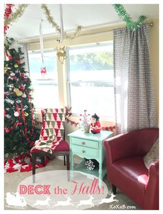 Christmas Room! So Cute #christmas #christmasdecor #decorating