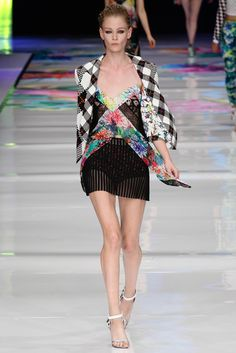 Just Cavalli Spring 2014 Ready-to-Wear Fashion Show - Carolina Thaler