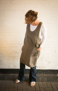 The Beatrice Pinafore from 'Sew Me Something' - pattern available