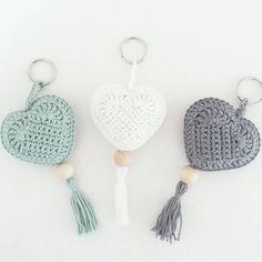 Crochet heart dishcloth gifts 22 new ideas Crochet Gifts, Cute Crochet, Crochet Motif, Crochet Yarn, Crochet Flowers, Crochet Toys, Crochet Patterns, Crochet Keychain Pattern, Crochet Bookmarks
