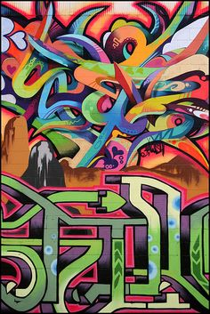 Instead of the water color theme I was thinking about doing something my graphic like graffiti for street like look.