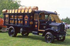 1919 White Labatt's beer truck-