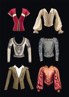 Quelques pourpoints de Rudolf Noureev.  © CNCS  / Pascal François Nureyev, Ballet Costumes, Men's Jackets, Dancers, Blouse, Collections, Modern, Inspiration, Ideas