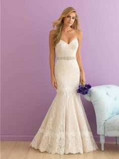 Allure Romance Wedding Dress Style 2916 | House of Brides