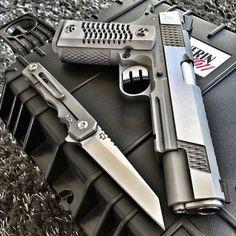 Gun And Knife