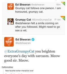 Ed Sheeran is adorable.