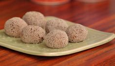 Frozen Mint Cacao Chia Balls - Good Chef Bad Chef