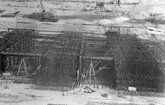 Year #1954 - Construction of #graving dock at Odessos #Shiprepair #Yard